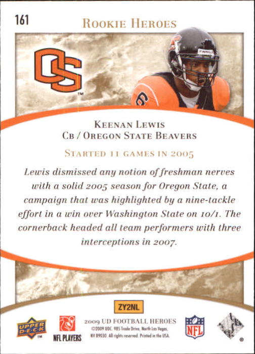 2009-Upper-Deck-Heroes-Football-1-269-Your-Choice-GOTBASEBALLCARDS thumbnail 281