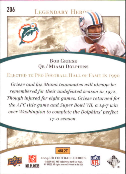 2009-Upper-Deck-Heroes-Football-1-269-Your-Choice-GOTBASEBALLCARDS thumbnail 353