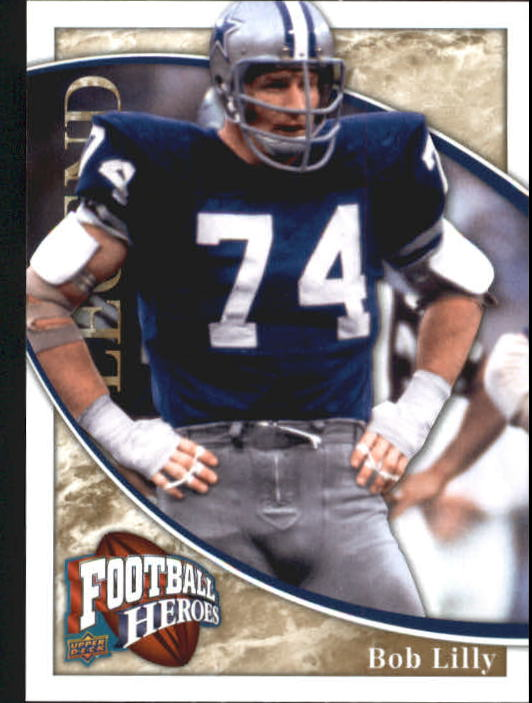2009 Upper Deck Heroes #239 Bob Lilly