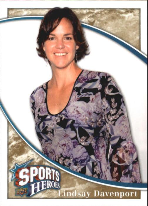 2009 Upper Deck Heroes #336 Lindsay Davenport