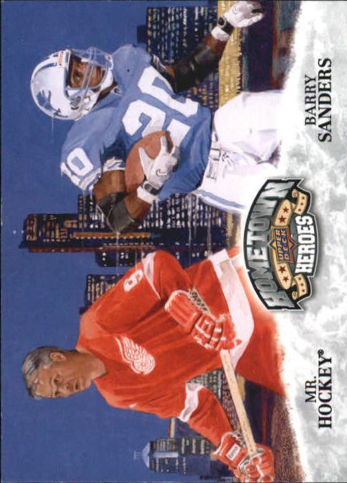 2009 Upper Deck Heroes #481 Barry Sanders HH/Gordie Howe