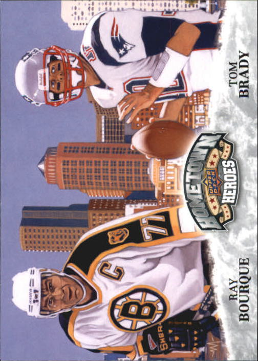 2009 Upper Deck Heroes #483 Ray Bourque HH/Tom Brady