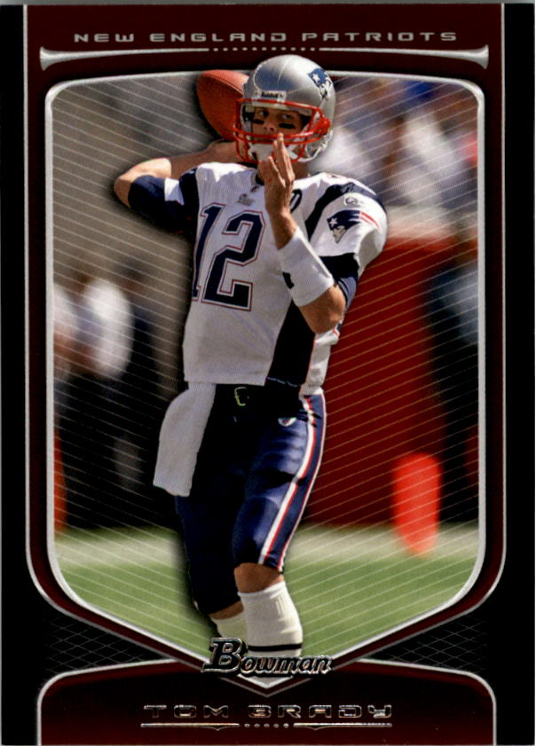 2009 Bowman Draft #10 Tom Brady