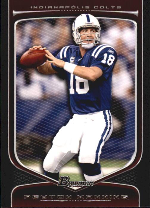 2009 Bowman Draft #12 Peyton Manning