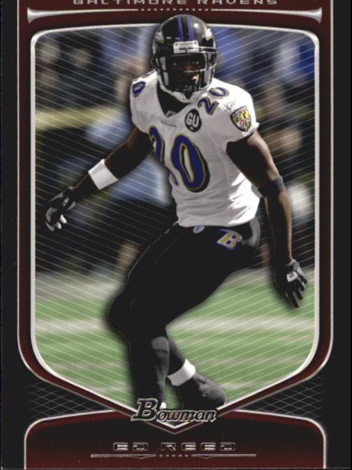 2009 Bowman Draft #92 Ed Reed