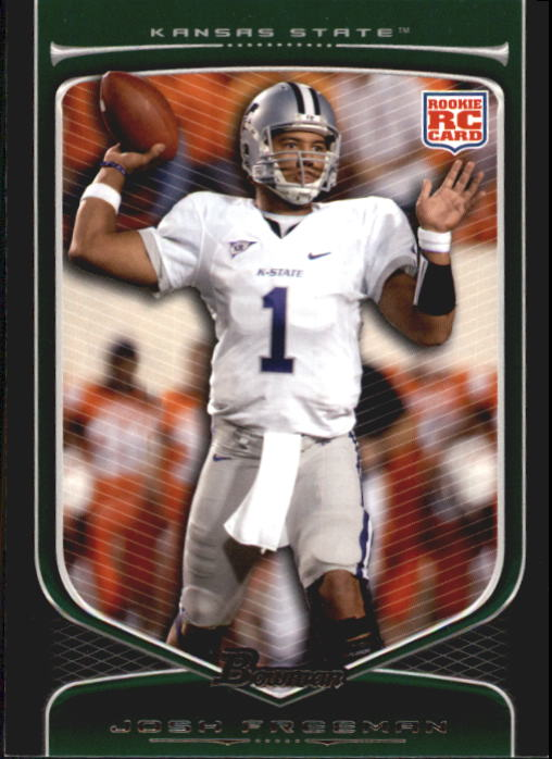 2009 Bowman Draft #162 Josh Freeman RC