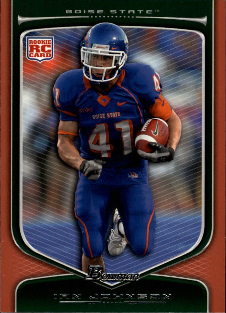 2009 Bowman Draft Orange #203 Ian Johnson