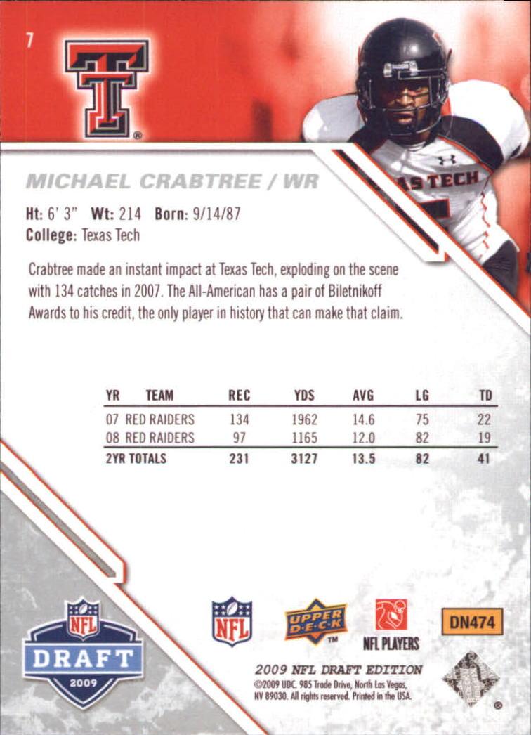 2009-Upper-Deck-Draft-Edition-Football-1-255-Your-Choice-GOTBASEBALLCARDS thumbnail 9