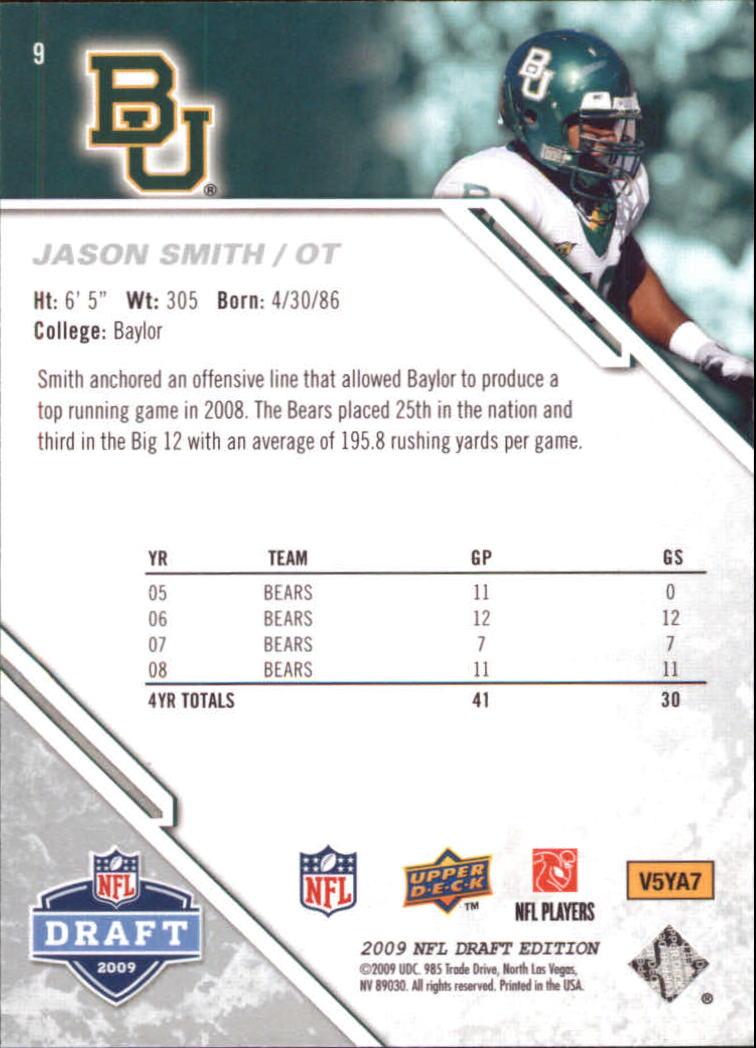 2009-Upper-Deck-Draft-Edition-Football-1-255-Your-Choice-GOTBASEBALLCARDS thumbnail 13