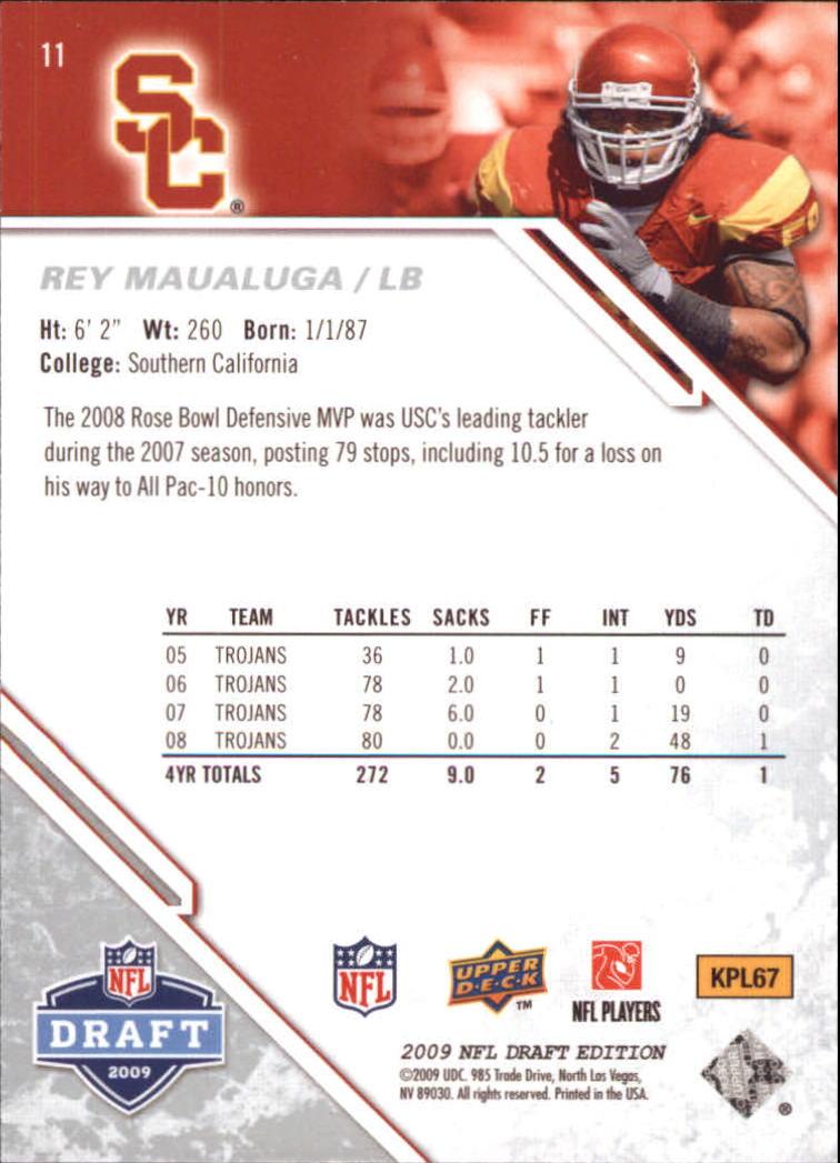 2009-Upper-Deck-Draft-Edition-Football-1-255-Your-Choice-GOTBASEBALLCARDS thumbnail 17