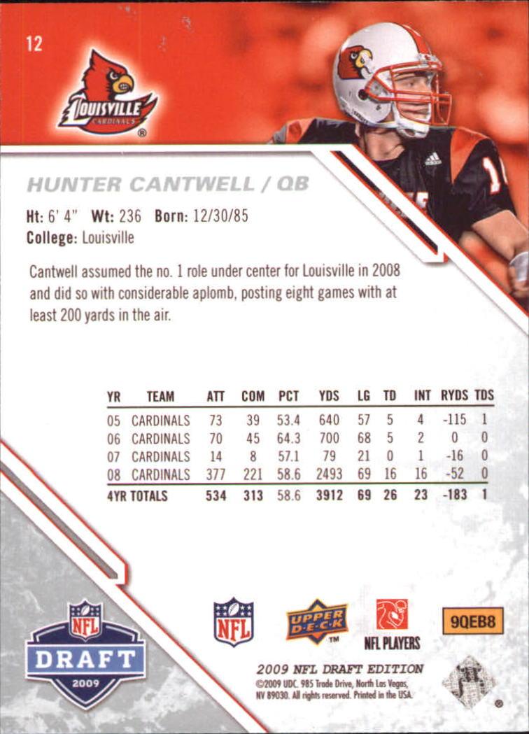 2009-Upper-Deck-Draft-Edition-Football-1-255-Your-Choice-GOTBASEBALLCARDS thumbnail 19