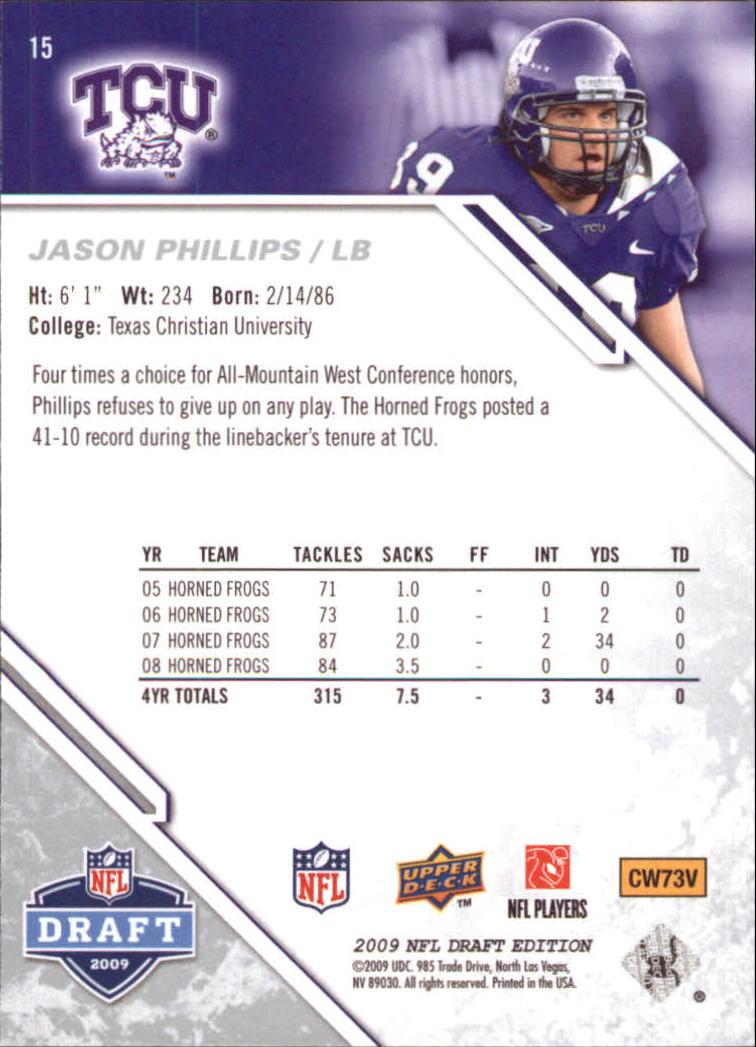 2009-Upper-Deck-Draft-Edition-Football-1-255-Your-Choice-GOTBASEBALLCARDS thumbnail 25