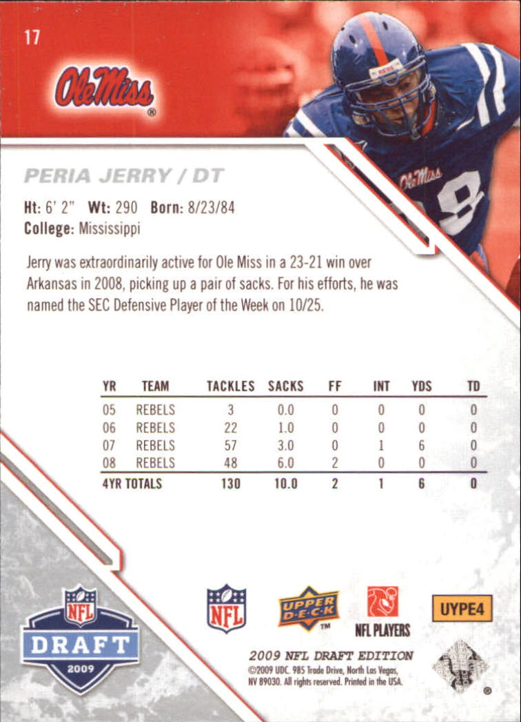2009-Upper-Deck-Draft-Edition-Football-1-255-Your-Choice-GOTBASEBALLCARDS thumbnail 27