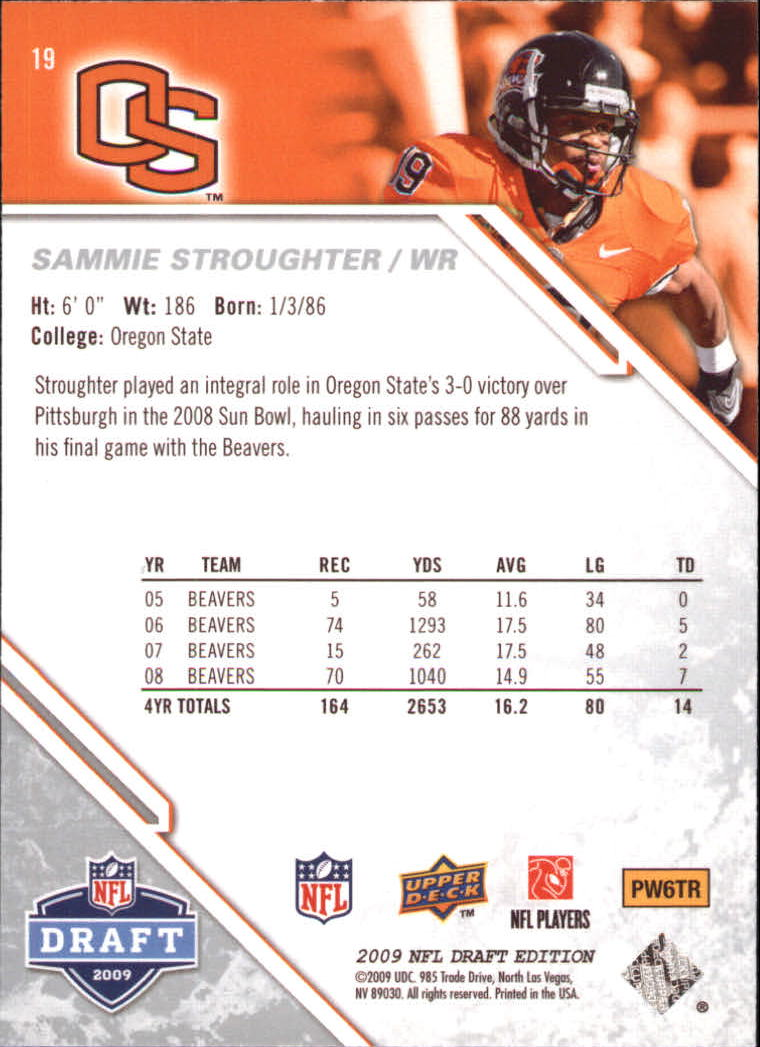 2009-Upper-Deck-Draft-Edition-Football-1-255-Your-Choice-GOTBASEBALLCARDS thumbnail 29
