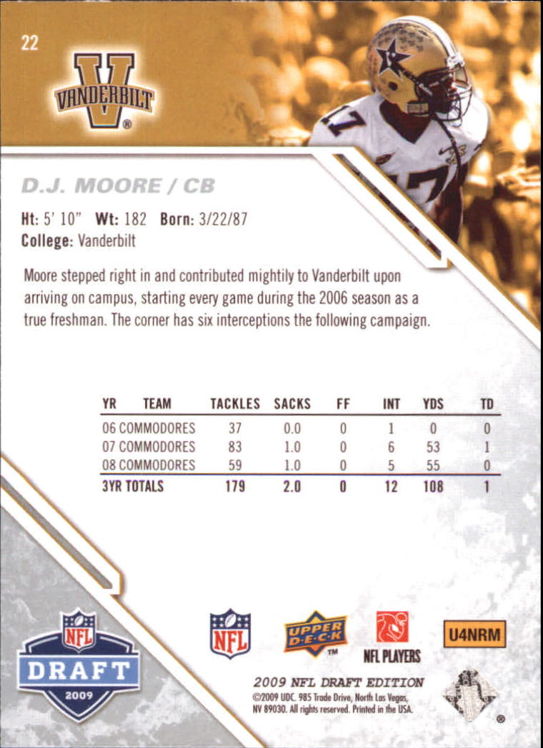 2009-Upper-Deck-Draft-Edition-Football-1-255-Your-Choice-GOTBASEBALLCARDS thumbnail 33