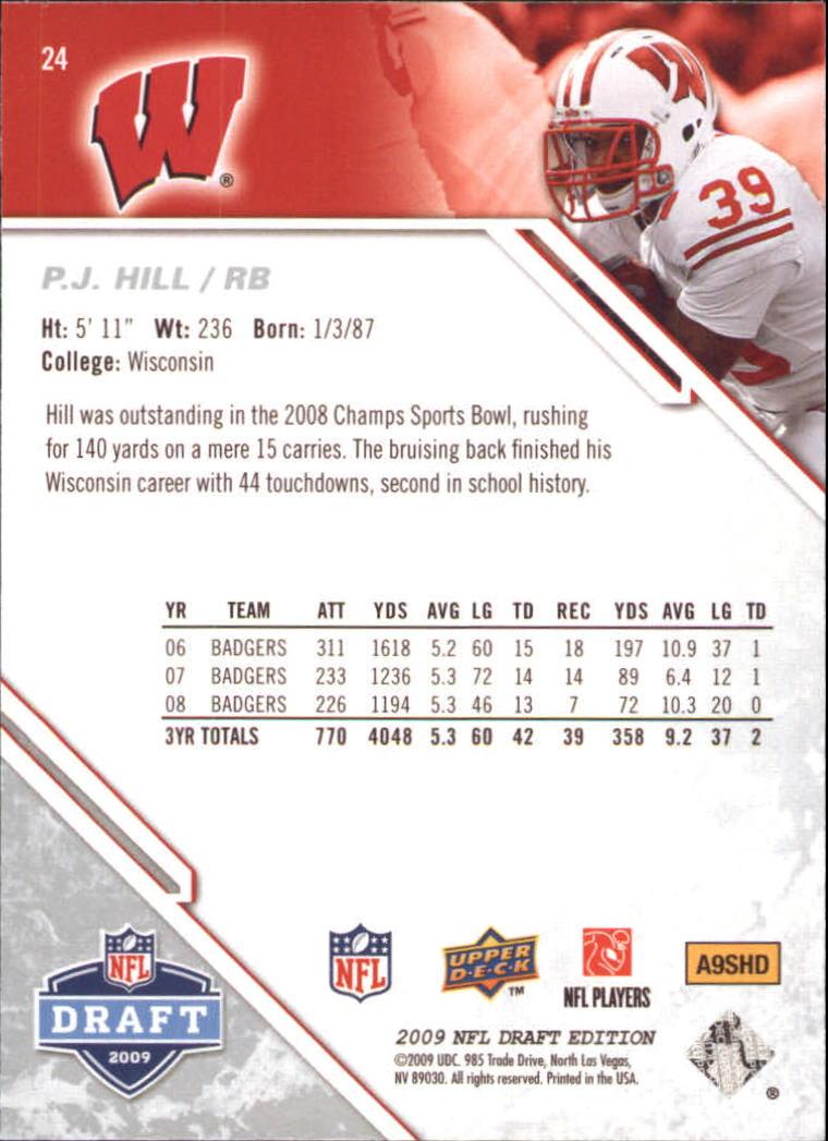 2009-Upper-Deck-Draft-Edition-Football-1-255-Your-Choice-GOTBASEBALLCARDS thumbnail 37