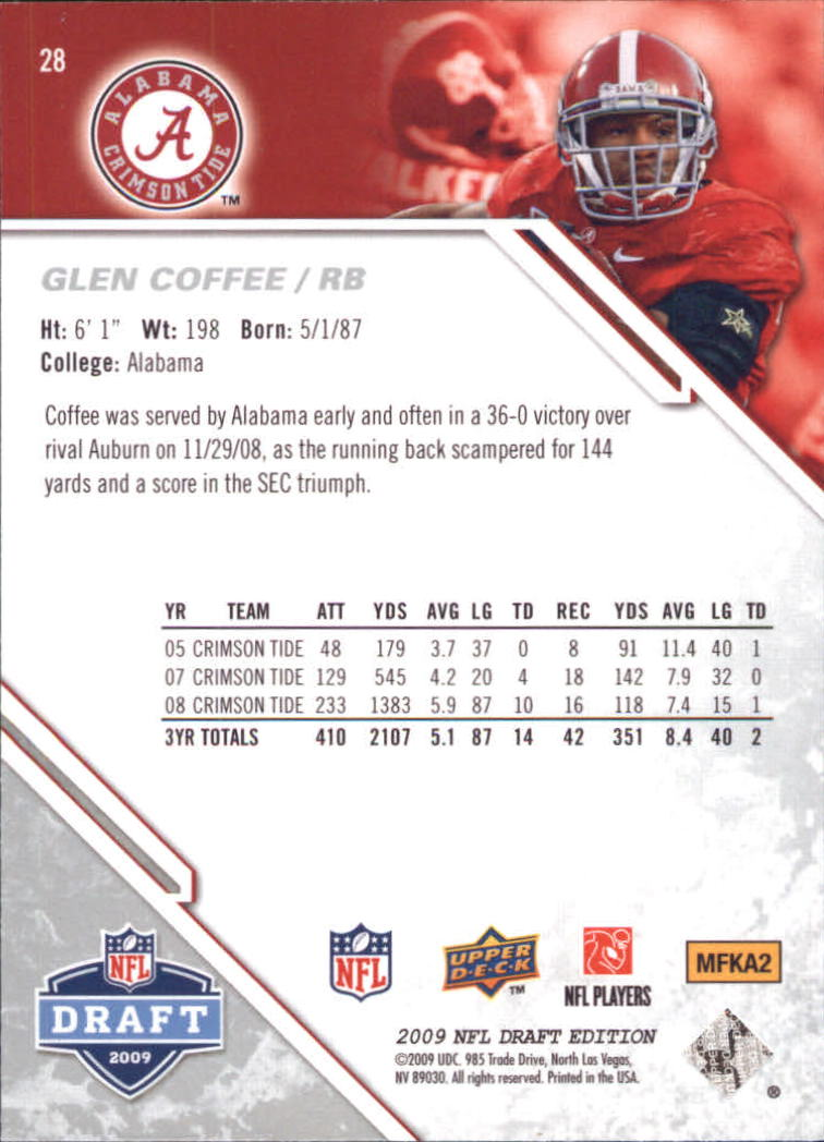 2009-Upper-Deck-Draft-Edition-Football-1-255-Your-Choice-GOTBASEBALLCARDS thumbnail 43
