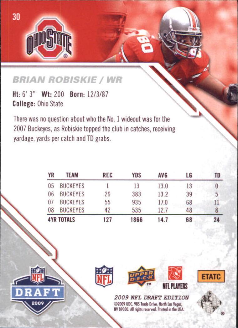 2009-Upper-Deck-Draft-Edition-Football-1-255-Your-Choice-GOTBASEBALLCARDS thumbnail 47