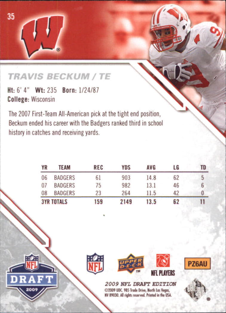 2009-Upper-Deck-Draft-Edition-Football-1-255-Your-Choice-GOTBASEBALLCARDS thumbnail 57
