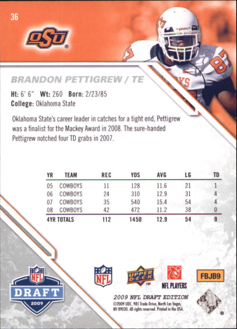 2009-Upper-Deck-Draft-Edition-Football-1-255-Your-Choice-GOTBASEBALLCARDS thumbnail 59