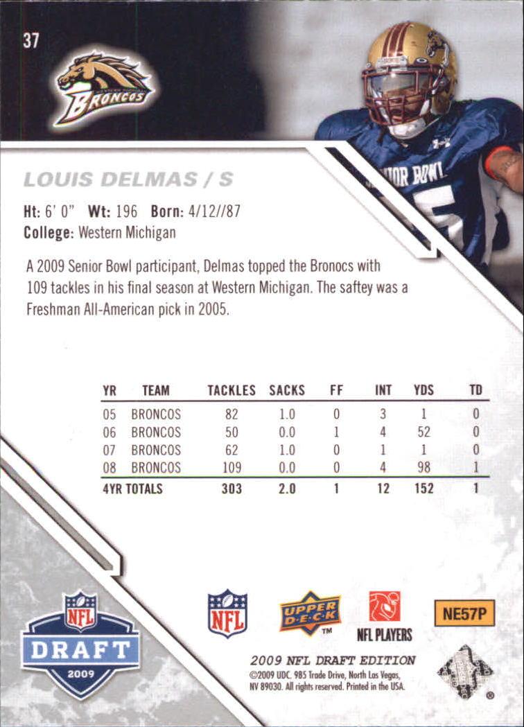 2009-Upper-Deck-Draft-Edition-Football-1-255-Your-Choice-GOTBASEBALLCARDS thumbnail 61