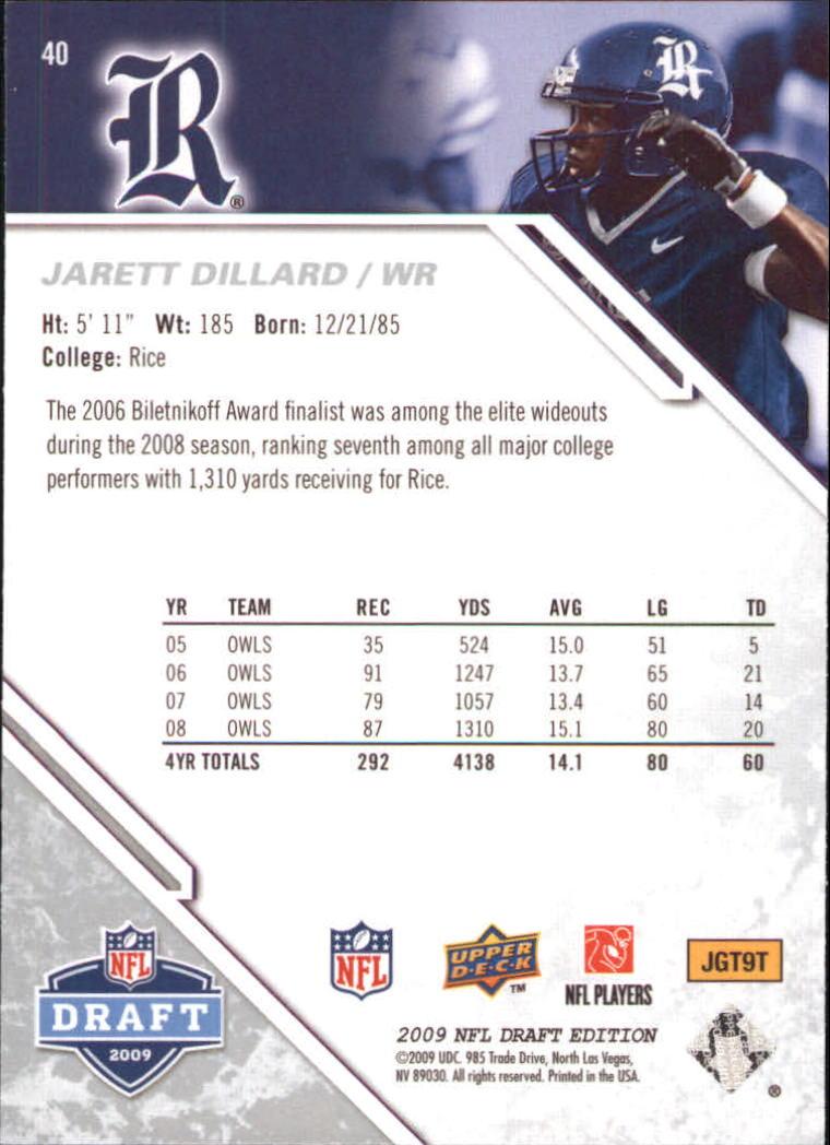 2009-Upper-Deck-Draft-Edition-Football-1-255-Your-Choice-GOTBASEBALLCARDS thumbnail 65