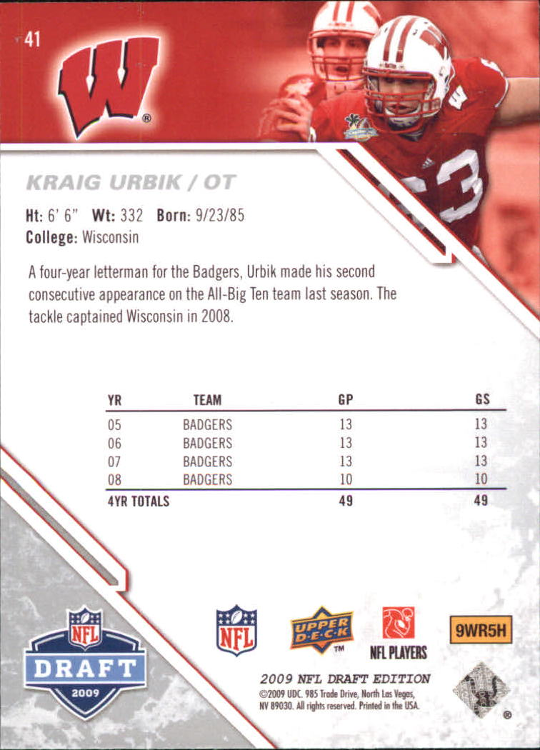 2009-Upper-Deck-Draft-Edition-Football-1-255-Your-Choice-GOTBASEBALLCARDS thumbnail 67