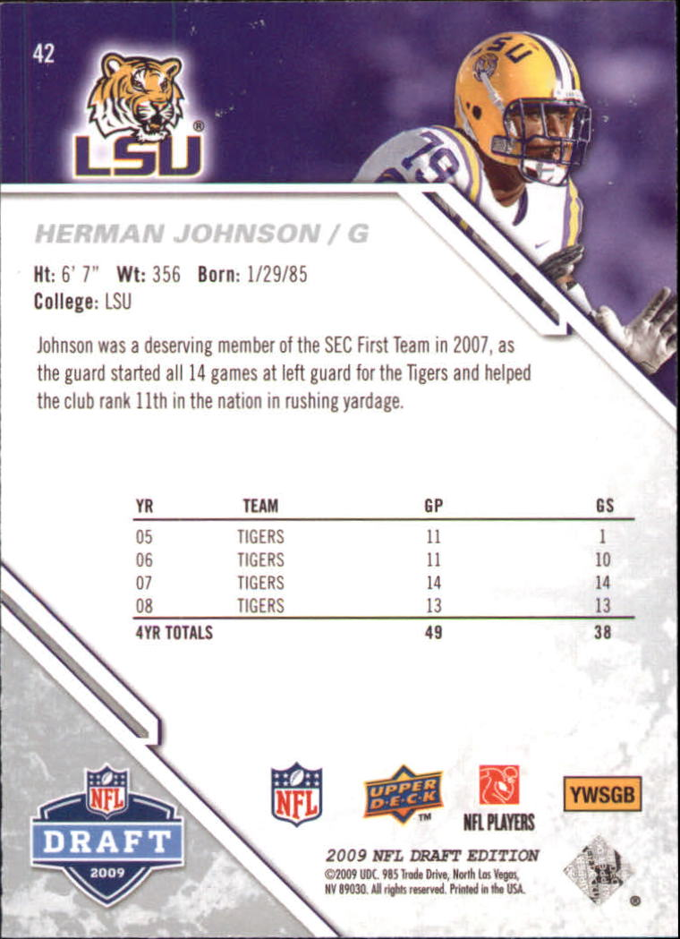 2009-Upper-Deck-Draft-Edition-Football-1-255-Your-Choice-GOTBASEBALLCARDS thumbnail 69