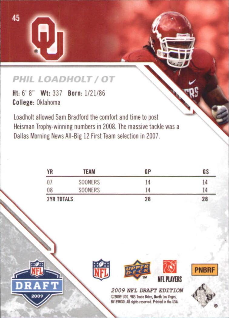 2009-Upper-Deck-Draft-Edition-Football-1-255-Your-Choice-GOTBASEBALLCARDS thumbnail 73