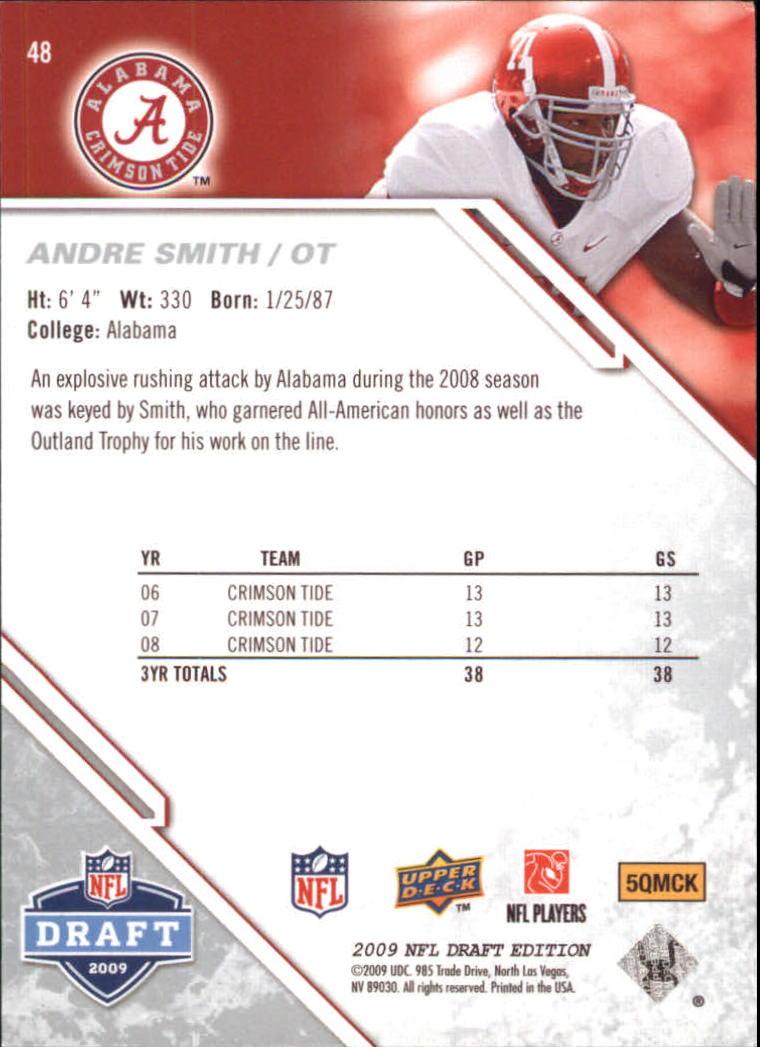 2009-Upper-Deck-Draft-Edition-Football-1-255-Your-Choice-GOTBASEBALLCARDS thumbnail 77