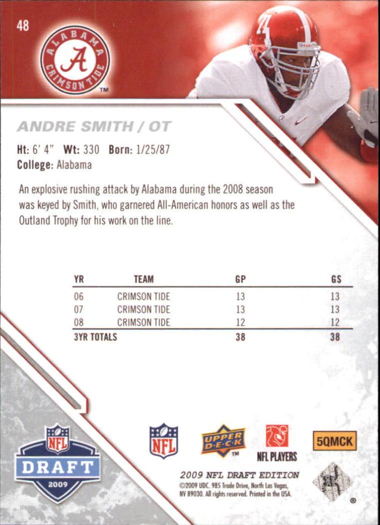 2009-Upper-Deck-Draft-Edition-Football-1-255-Your-Choice-GOTBASEBALLCARDS thumbnail 79