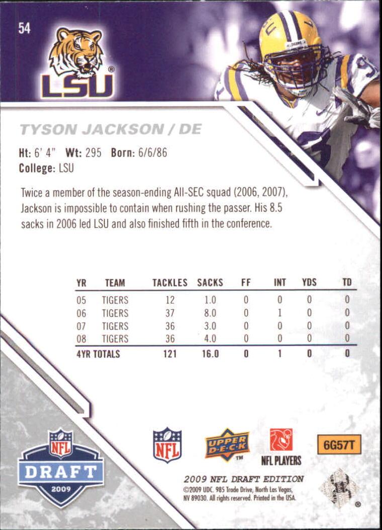 2009-Upper-Deck-Draft-Edition-Football-1-255-Your-Choice-GOTBASEBALLCARDS thumbnail 85