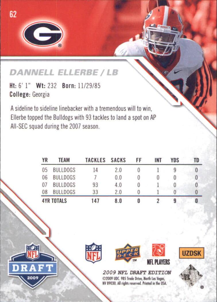 2009-Upper-Deck-Draft-Edition-Football-1-255-Your-Choice-GOTBASEBALLCARDS thumbnail 91
