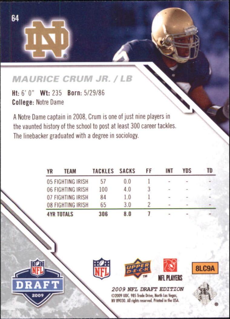 2009-Upper-Deck-Draft-Edition-Football-1-255-Your-Choice-GOTBASEBALLCARDS thumbnail 93