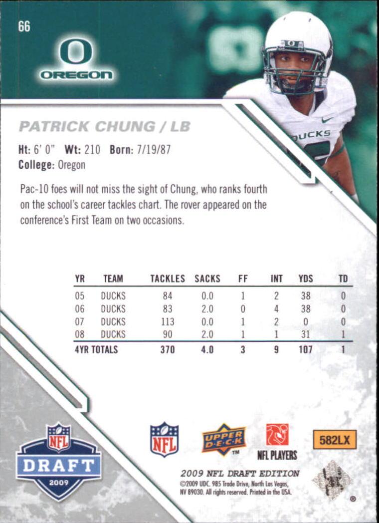 2009-Upper-Deck-Draft-Edition-Football-1-255-Your-Choice-GOTBASEBALLCARDS thumbnail 97
