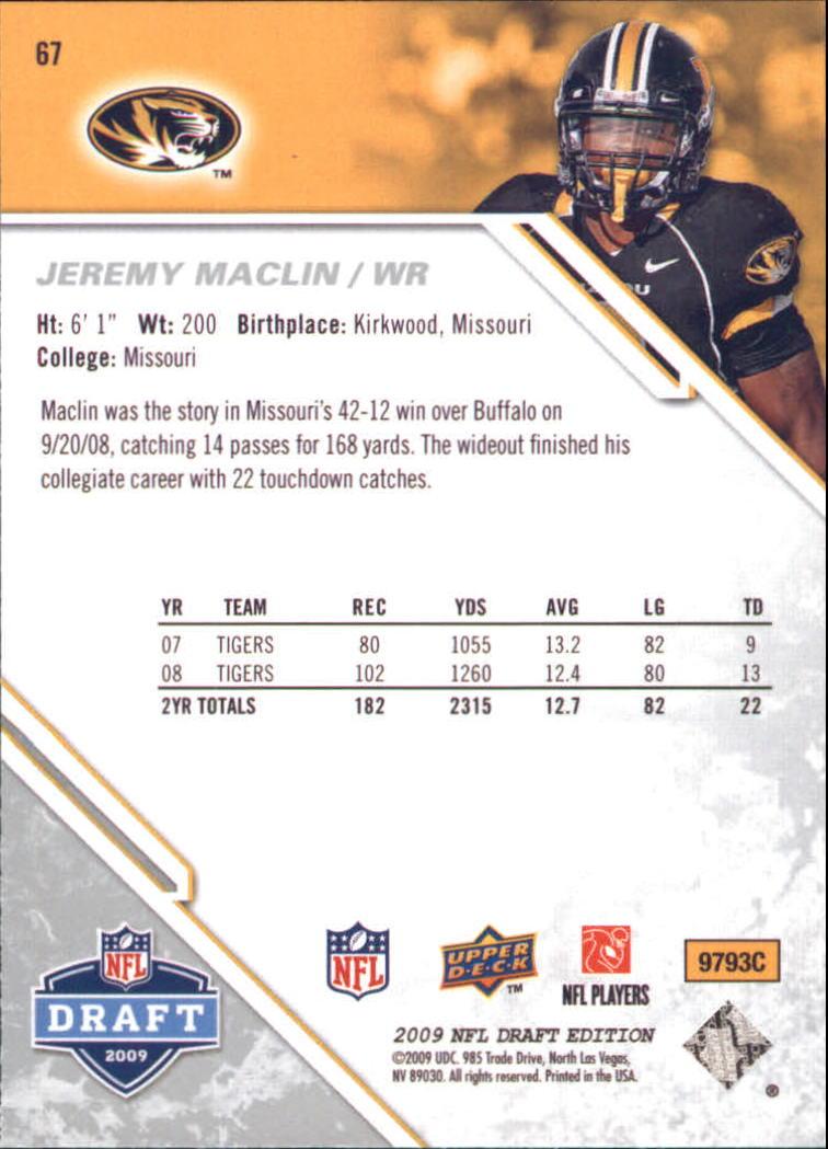 2009-Upper-Deck-Draft-Edition-Football-1-255-Your-Choice-GOTBASEBALLCARDS thumbnail 99