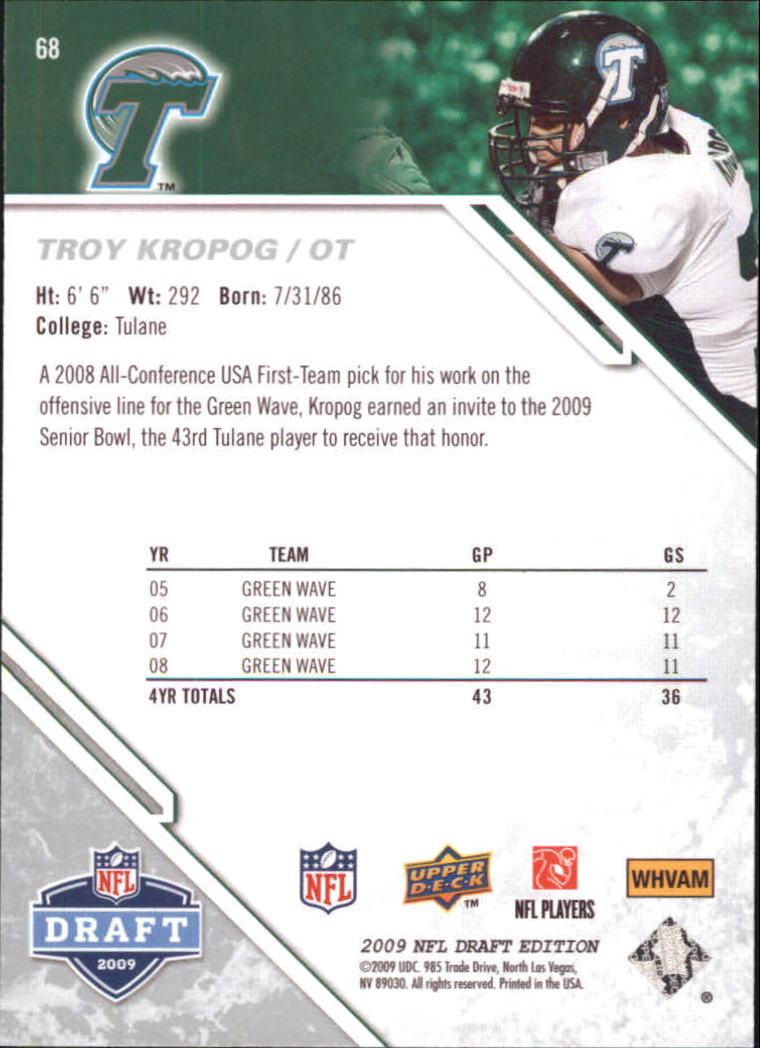 2009-Upper-Deck-Draft-Edition-Football-1-255-Your-Choice-GOTBASEBALLCARDS thumbnail 101