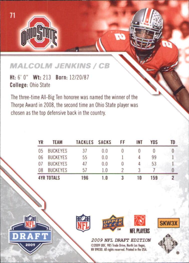 2009-Upper-Deck-Draft-Edition-Football-1-255-Your-Choice-GOTBASEBALLCARDS thumbnail 105
