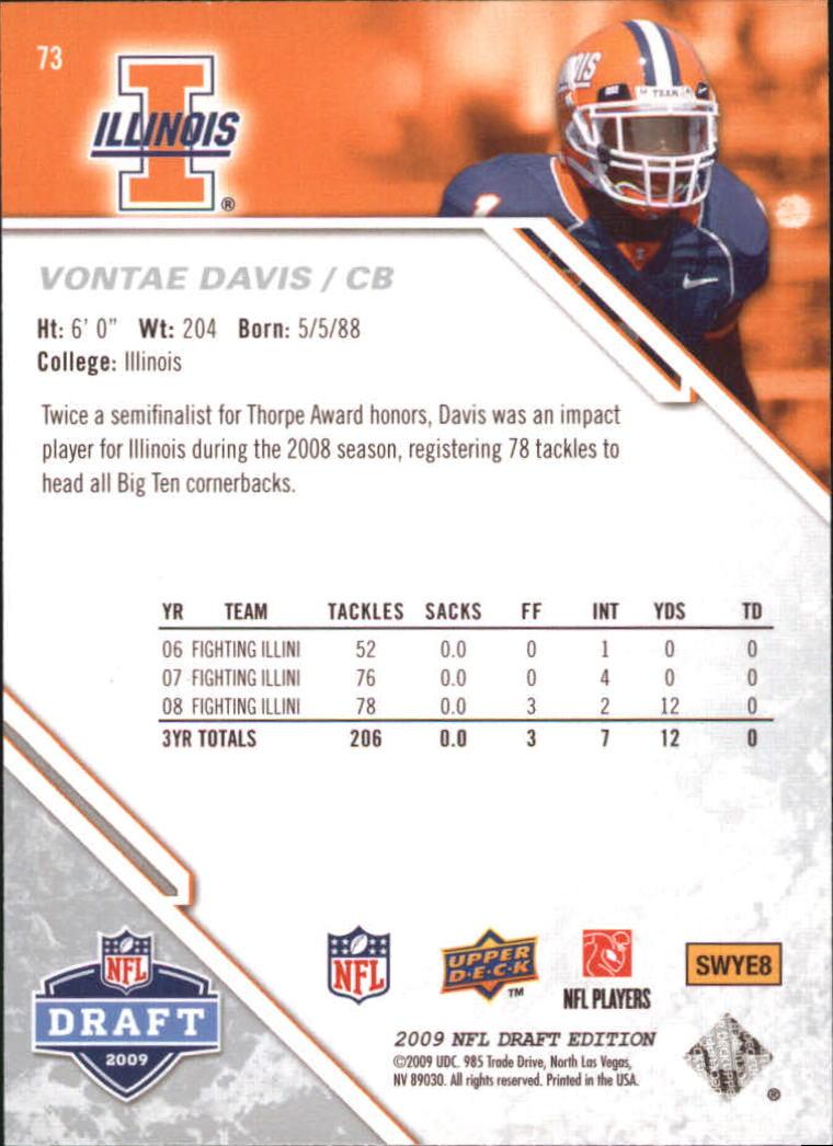 2009-Upper-Deck-Draft-Edition-Football-1-255-Your-Choice-GOTBASEBALLCARDS thumbnail 109