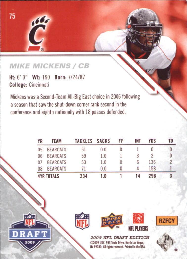 2009-Upper-Deck-Draft-Edition-Football-1-255-Your-Choice-GOTBASEBALLCARDS thumbnail 111