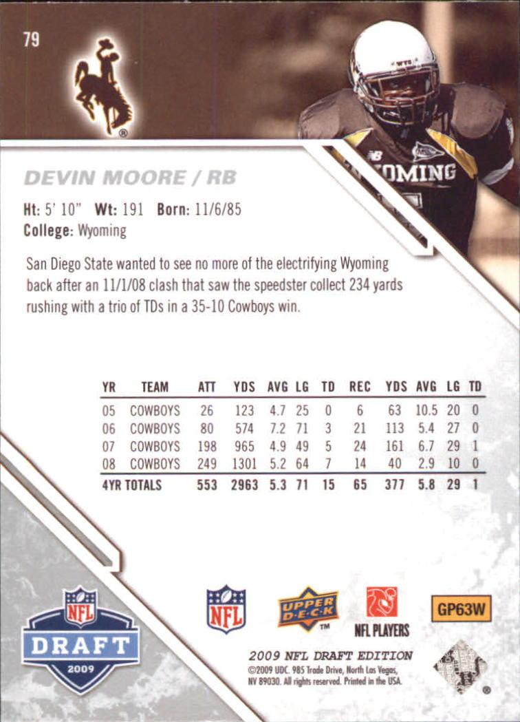 2009-Upper-Deck-Draft-Edition-Football-1-255-Your-Choice-GOTBASEBALLCARDS thumbnail 117