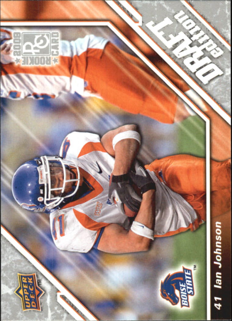 2009 Upper Deck Draft Edition #81 Ian Johnson RC