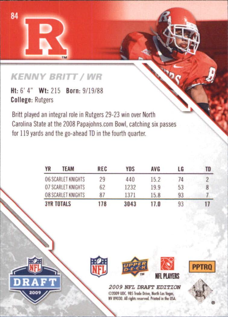 2009-Upper-Deck-Draft-Edition-Football-1-255-Your-Choice-GOTBASEBALLCARDS thumbnail 127