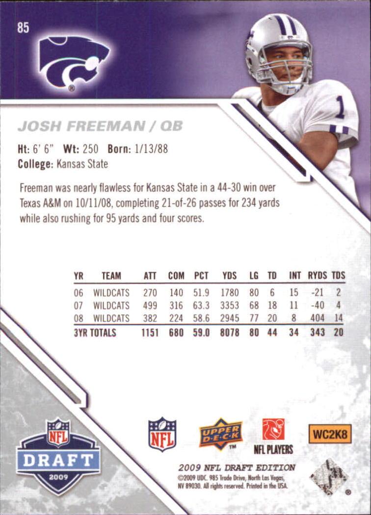 2009-Upper-Deck-Draft-Edition-Football-1-255-Your-Choice-GOTBASEBALLCARDS thumbnail 129