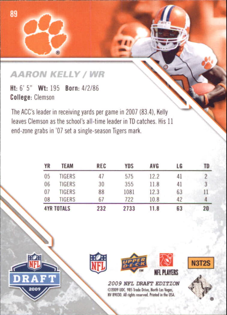 2009-Upper-Deck-Draft-Edition-Football-1-255-Your-Choice-GOTBASEBALLCARDS thumbnail 137