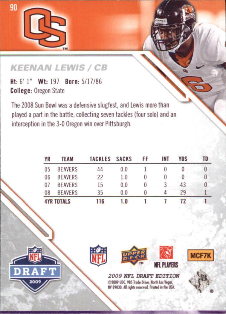 2009-Upper-Deck-Draft-Edition-Football-1-255-Your-Choice-GOTBASEBALLCARDS thumbnail 139