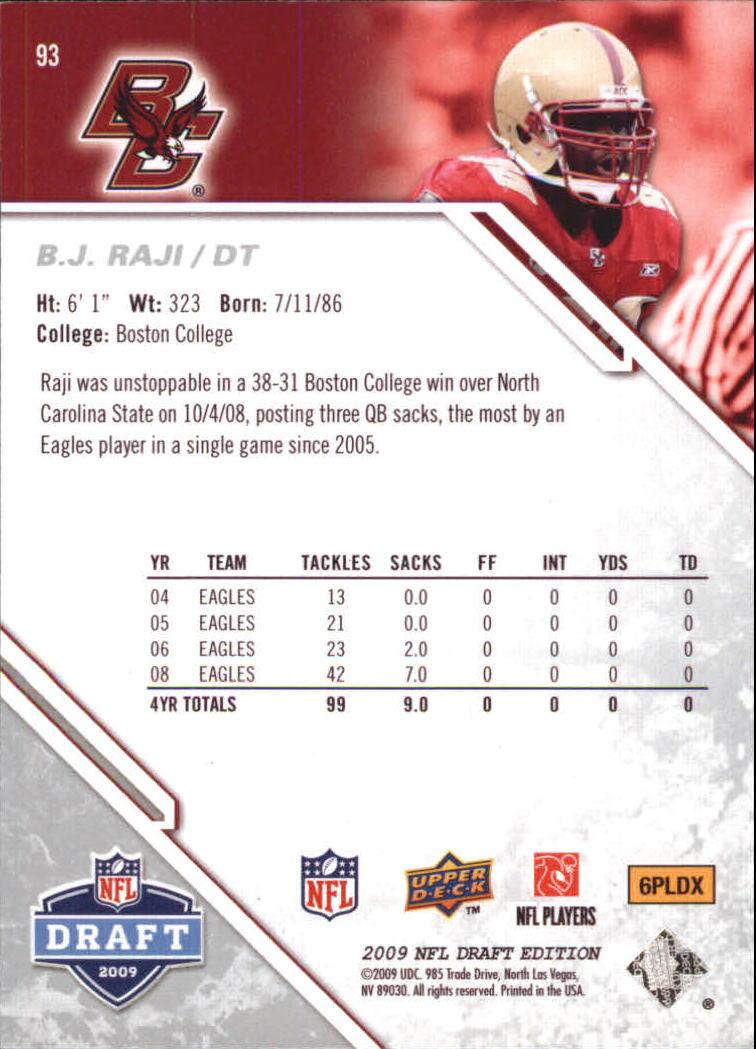 2009-Upper-Deck-Draft-Edition-Football-1-255-Your-Choice-GOTBASEBALLCARDS thumbnail 145