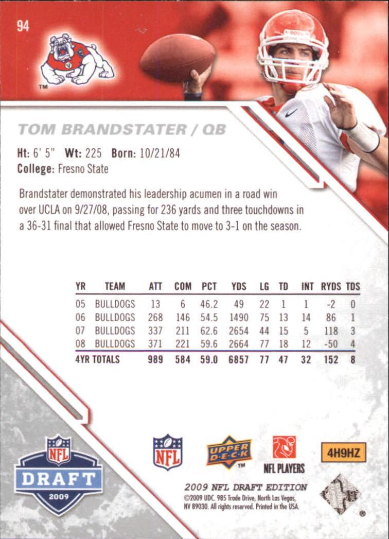 2009-Upper-Deck-Draft-Edition-Football-1-255-Your-Choice-GOTBASEBALLCARDS thumbnail 147
