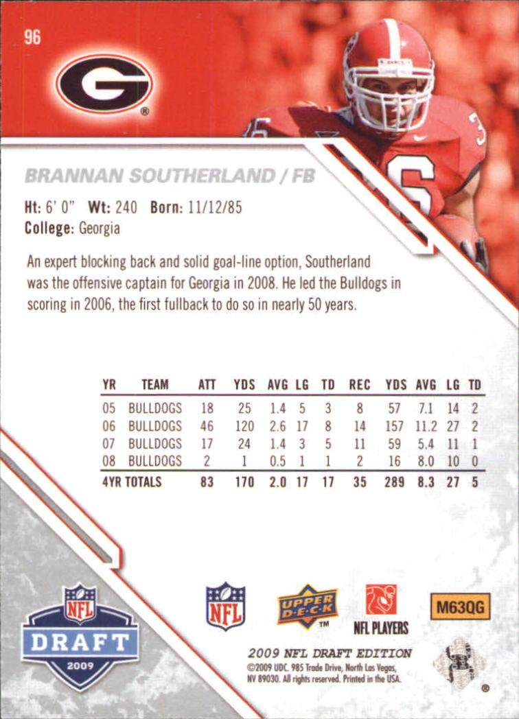 2009-Upper-Deck-Draft-Edition-Football-1-255-Your-Choice-GOTBASEBALLCARDS thumbnail 151
