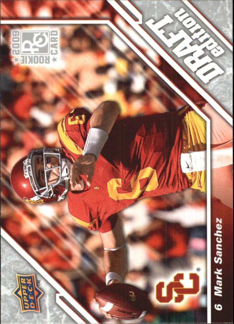 2009 Upper Deck Draft Edition #102 Mark Sanchez RC
